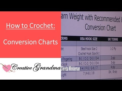 Yarn Weight And Hook Size Conversion Chart - Reference Guidelines  Plus Sizing Charts