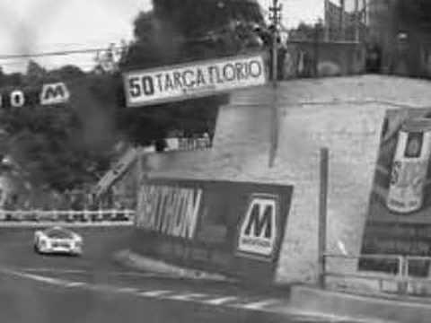 Targa Florio car race 40 years ago