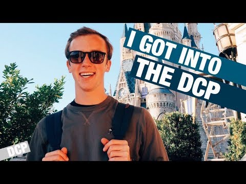 I got into the Disney College Program //DCP.1