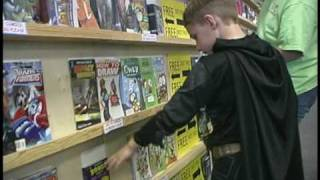 Comic Book Literacy Trailer