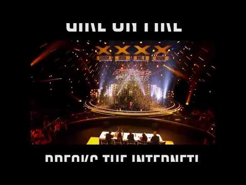 Angelica Hale sing Girl on Fire on AGT17