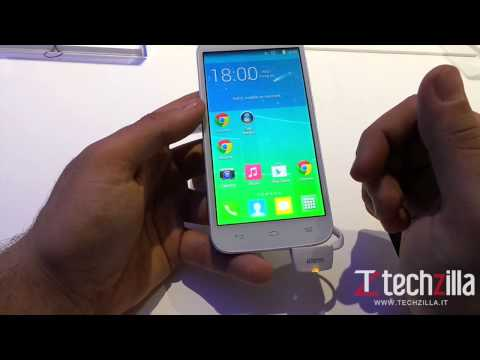 Alcatel One Touch Pop S7 video anteprima da Techzilla.it | MWC 2014