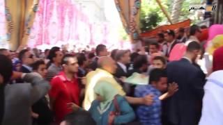 بالفيديو..منتصر الزيات يقود مظاهرات المحامين أمام النقابة للمطالبة بسحب الثقة من سامح عاشور