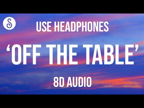 Ariana Grande, The Weeknd - off the table (8D AUDIO)