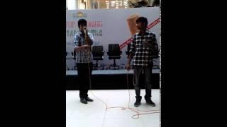 Beatboxers Karthik and Sunil @inorbit 2017 Video