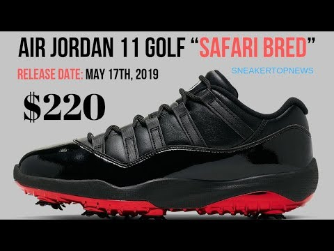 """separation shoes 256f2 9eb3d Air Jordan 11 Golf """"Safari Bred"""" Releases On May 17th"""