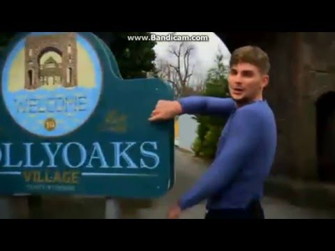#HollyoaksAAA with Kieron Richardson