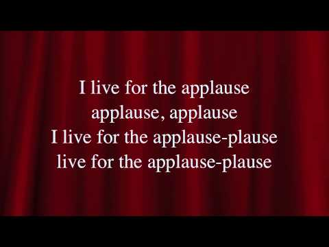 Lady Gaga - Applause Lyrics