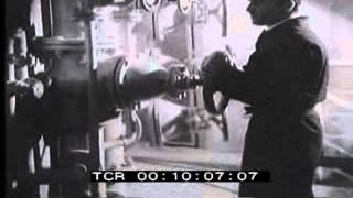 Funzionamento della diga del medio Flumendosa - 1969