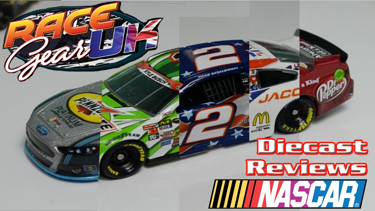 NASCAR Diecast Review: 2014 5-WAY CHRISTMAS SPECIAL! - YouTube