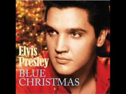 Blue Christmas-Elvis Presley(with Lyrics in desciption) - YouTube