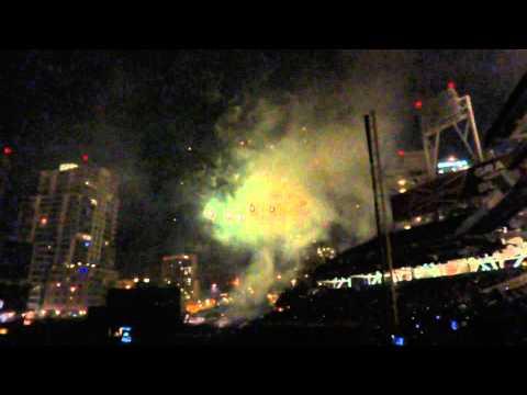 San Diego Padres Petco Park Olympic Celebration Fireworks
