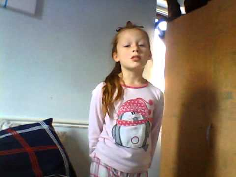 8 year old singing your song by elle goulding