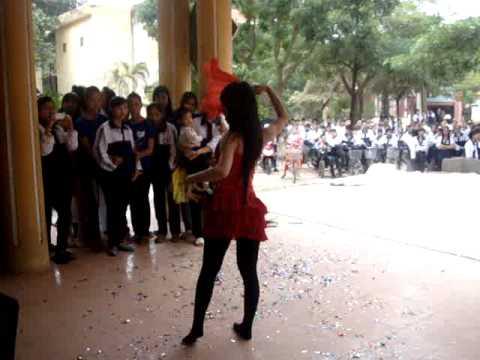 Học sinh thanh lịch- 12a5-Hiệp Hòa 1: Dance Flamenco