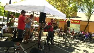 Bay Area Brass Band live at Off the Grid - Cissy Strut