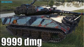 Скилловик Дамагер на ЛТ-10 Шеридан ✅ World of Tanks XM551 Sheridan лучший бой