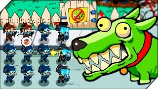 НОВЫЕ ЗОМБИ против  СПЕЦНАЗА - Игра Swat And Zombies # 2 Андроид игры про зомби