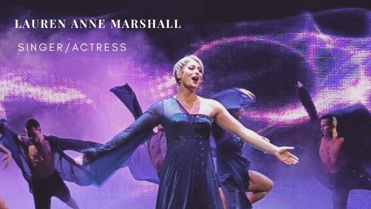 LAUREN ANNE MARSHALL - SINGER/ACTRESS