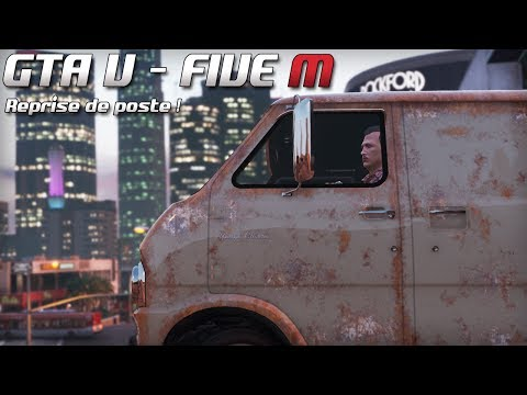 GTA 5 - Law Enforcement Live - Reprise de poste ! (Five M)