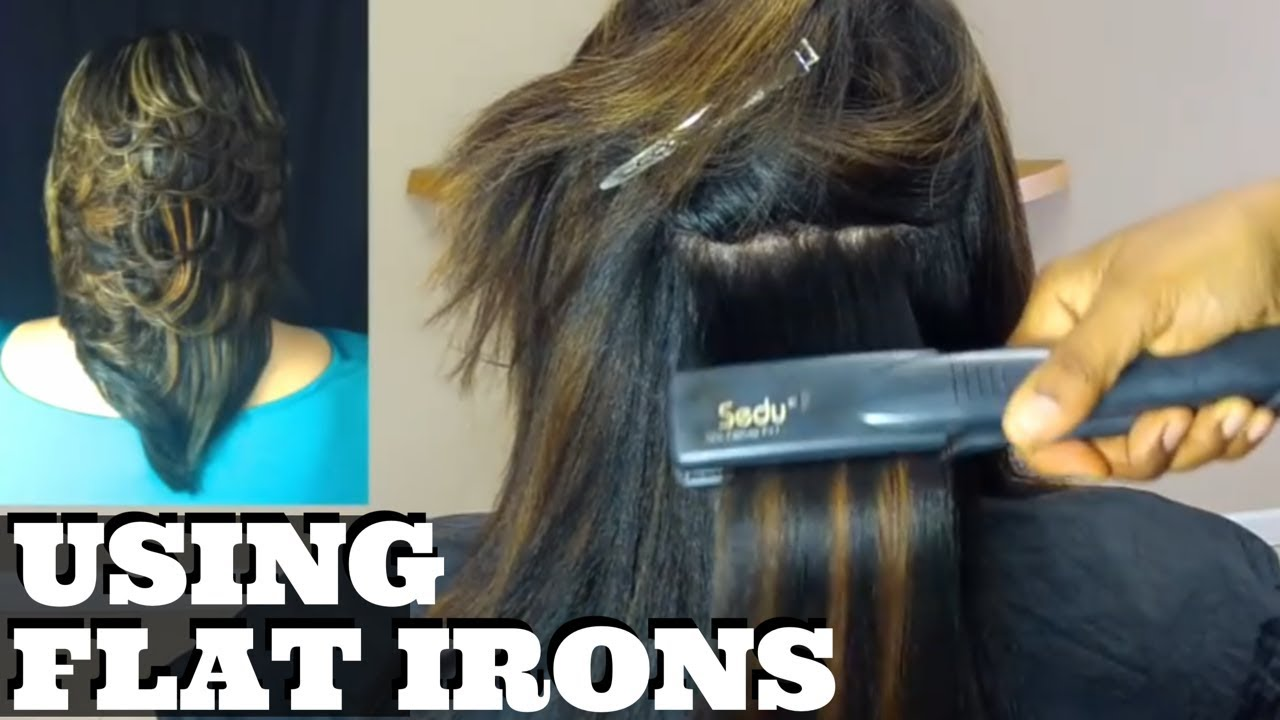 hairstyle with curly iron   new hairstyles