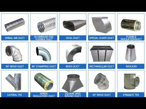 Hvac Duct Ii Types Of Duct Ii Duct Material Explanation