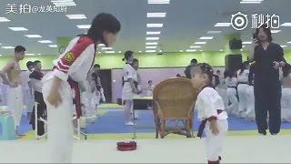 Lâm Thu Nam 林秋楠 Cập Nhật Weibo 6.11.04 Kungfu taekwondo của muội muội rất bổng