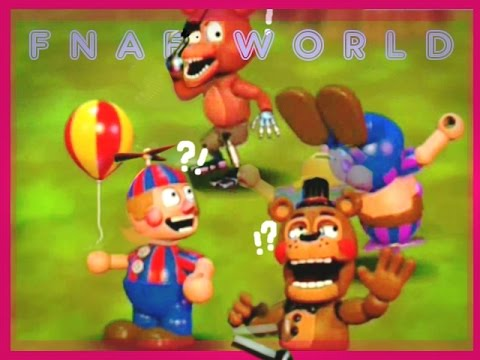 FNAF WORLD | JJ Backflip??