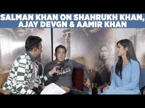 Salman Khan on Shahrukh Khan,Ajay Devgn & Aamir Khan! #Bharat