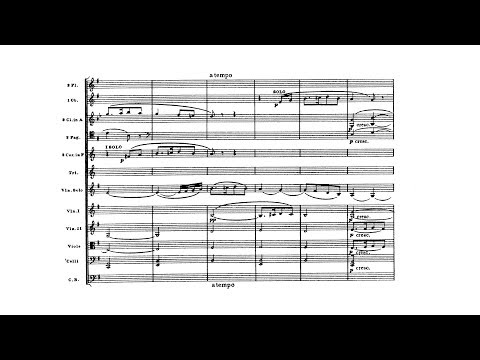Ralph Vaughan Williams - The Lark Ascending [With score]