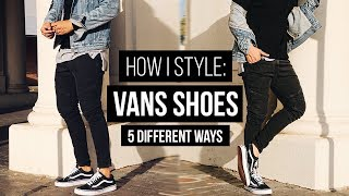 One of JairWoo's most viewed videos: HOW I STYLE: VANS | 5 DIFFERENT STYLES & OUTFITS  #LOOKBOOK | JAIRWOO