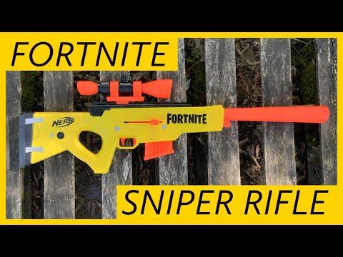 Nerf Fortnite Sniper Rifle - BASR-L Review