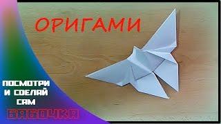 Оригами Бабочка-Origami Butterfly