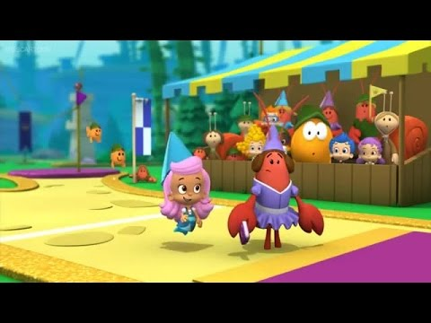 bubble guppies the glitter games song