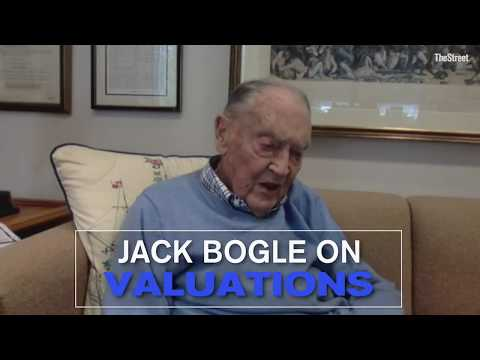 Stock Valuations Are 'Fairly Full,' Says Vanguard's Bogle