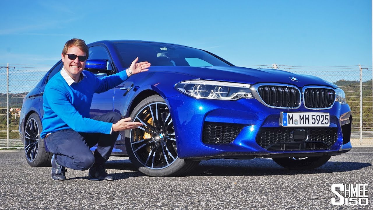 this is the new bmw m5! | review - youtube