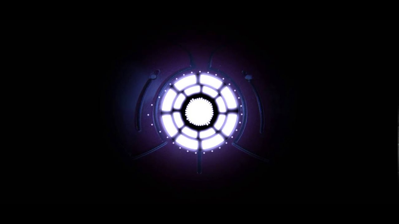 Motion graphic ironman chest audio visualizer youtube - Iron man heart wallpaper ...
