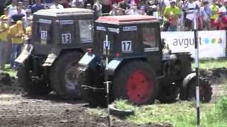 Соревнования, гонки на тракторах 2011