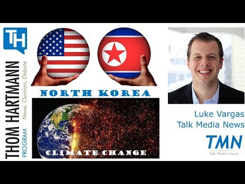 One Planet Summit : USA not Invited plus What now in North Korea? (Luke Vargas - Talk Media News)