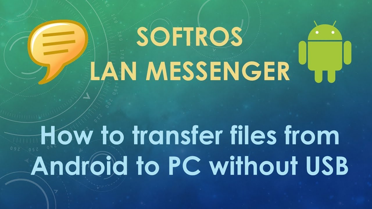 How to transfer files from Android to PC without USB
