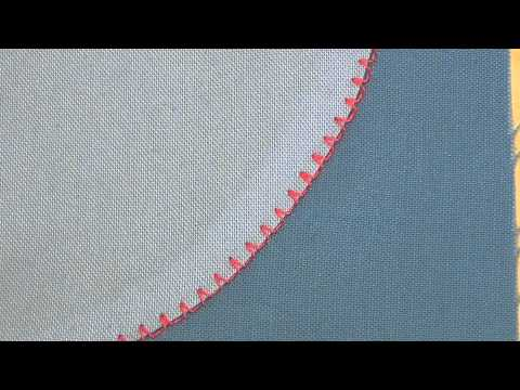 Machine Minute Blindhem Stitch For Mock Hand Look YouTube Enchanting How To Hemstitch On A Sewing Machine