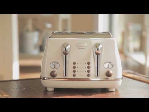 Introducing the New Icona Vintage range from Delonghi - Cream