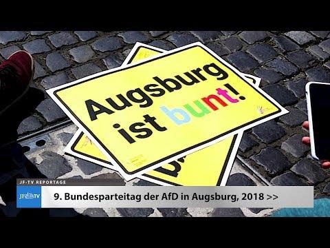 Parteitag der AfD in Augsburg (JF-TV Reportage)