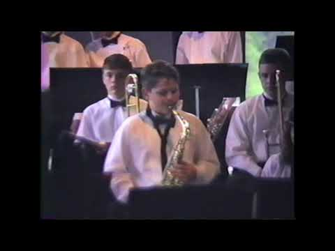 Shasta Middle School Jazz Band at Bellevue Jazz Festival 1993 Long