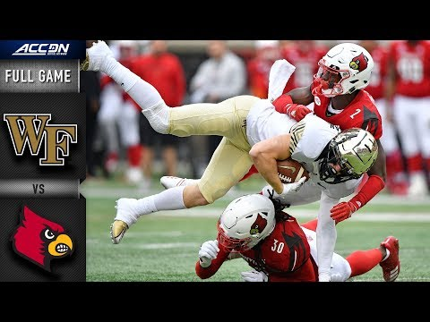 Wake Forest vs. Louisville Full Game | 2018 ACC Football