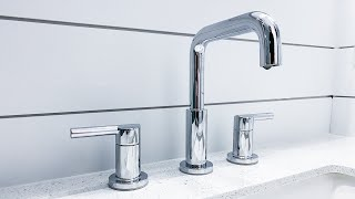 How To Install a Bathroom Faucet Complete Installation With Water and Drain Hookup