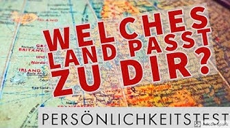 🗿 Welches Land passt zu dir? Persönlichkeitstest! 🗿