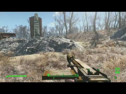 Lets Play Fallout 4 session Part 74 - Mass Gravel and Sand