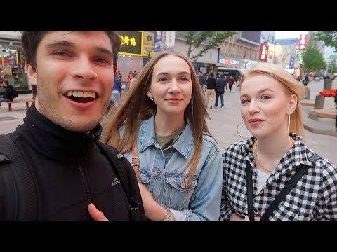 Asking 2 Belarusian Girls To Both Be My Girlfriend..