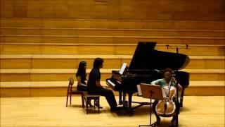 ALBERTO GINASTERA Pampeana Nº 2, op. 21 - Ana Salas, violoncello Javier Villegas, piano