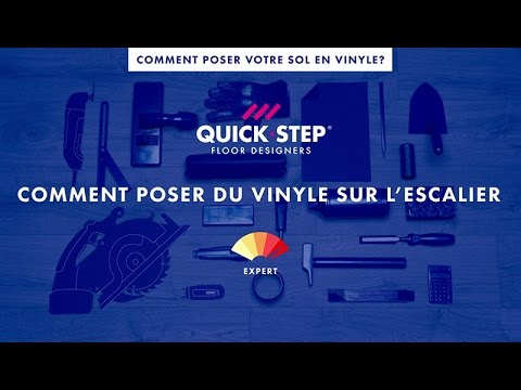 comment poser du vinyle sur l escalier tutoriel quick step youtube. Black Bedroom Furniture Sets. Home Design Ideas
